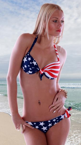 Neckholder-Bandeau-Bikini - American-Style
