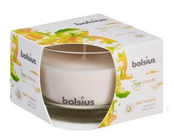 Duftkerzenglas von Bolsius True Moods feel happy
