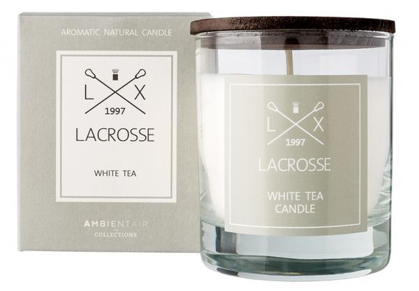Duftkerze im Glas  Ambientair LACROSSE White Tea 200g