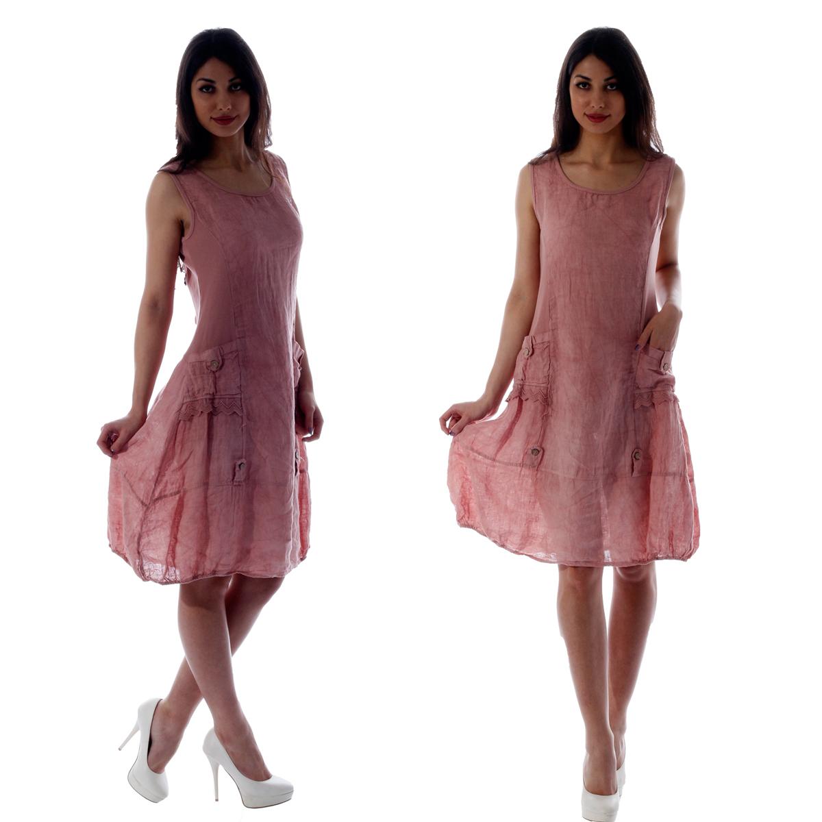 Leinenkleid italienische mode
