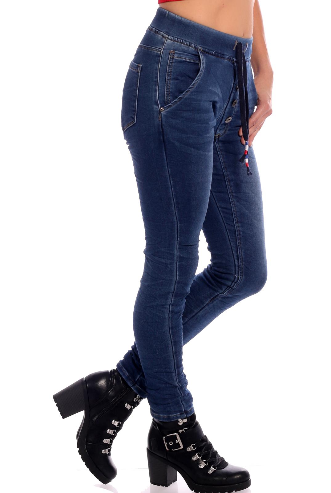 Jeans Stretchbund mit Tunnelzugschnürung Cropp Style und